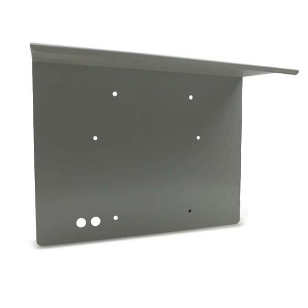 Regenschutzabdeckung silbergrau für KeyBox