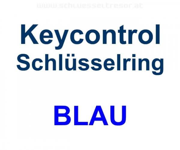 Keycontrol Schlüssel-Ring BLAU