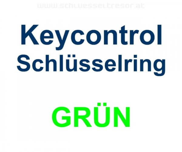 Keycontrol Schlüssel-Ring GRÜN