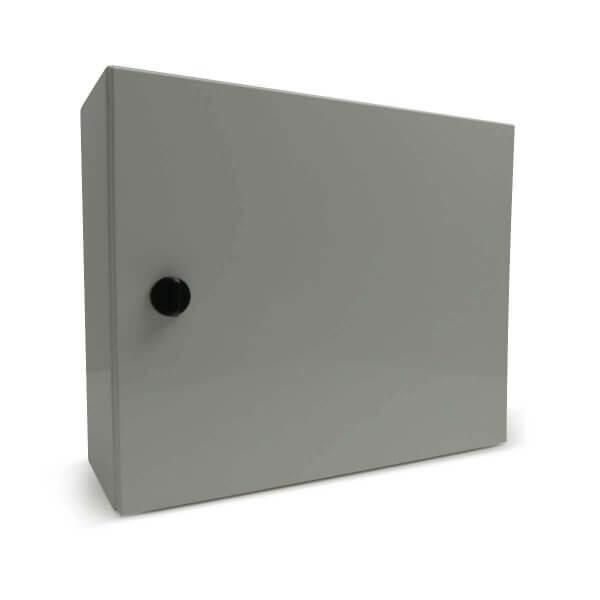 Schutzschrank weiss für eine KeyBox