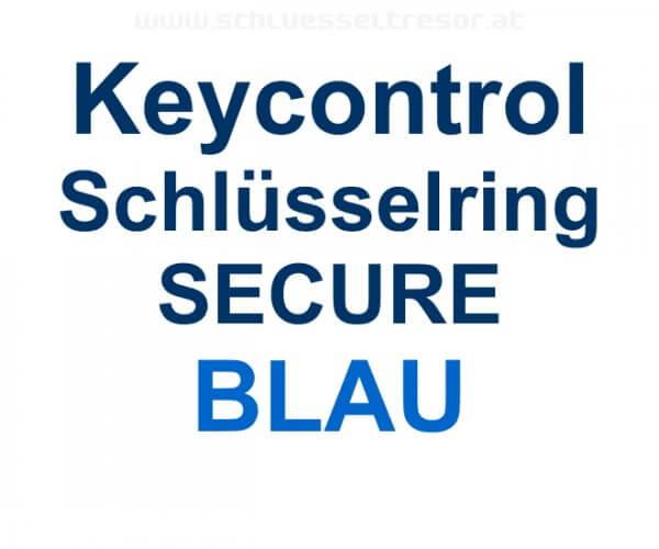Keycontrol Schlüssel-Ring BLAU SECURE