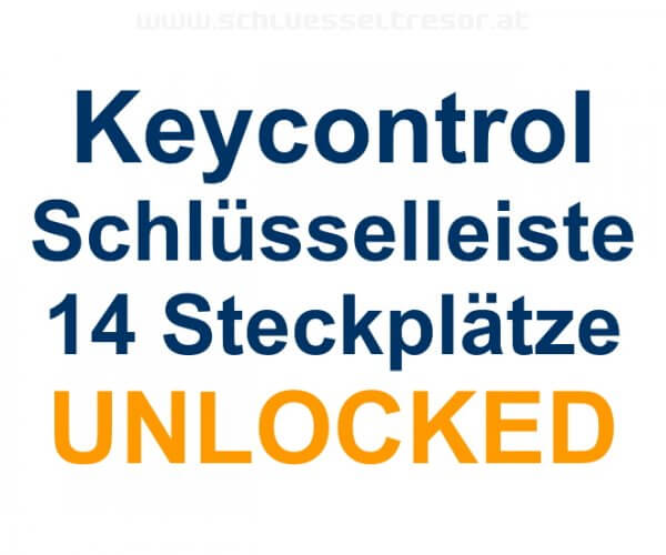 Keycontrol Schlüssel-Steckleiste 14 Plätze