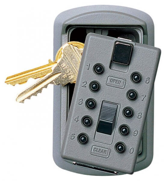 Supra KeySafe S6 Schlüsselsafe Titan
