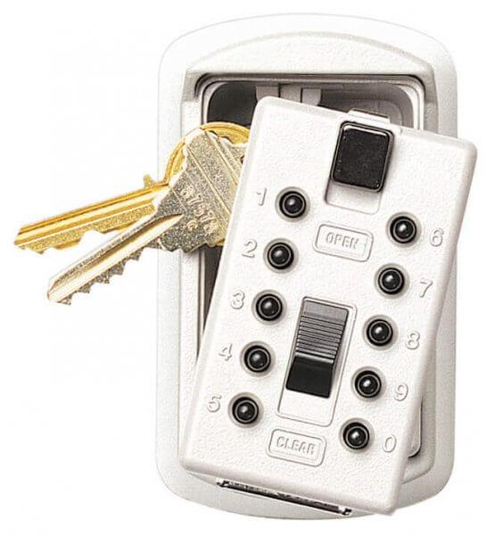 Supra KeySafe S6 Schlüsselsafe Weiss