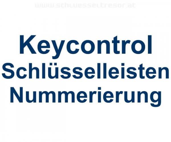 Keycontrol Schlüssel-Steckleisten Nummerierung