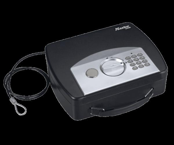 Master Lock P008EML Dokumentenkassette mit digitaler Kombination